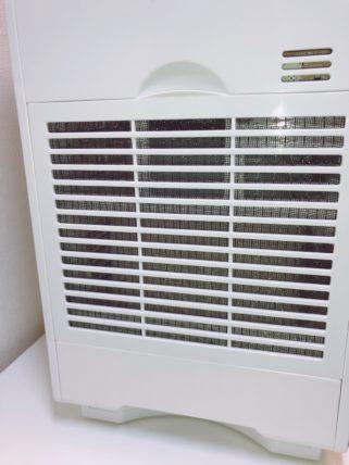加湿器の吸気フィルター