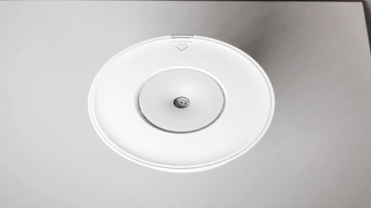 H2O加湿器上から見た画像