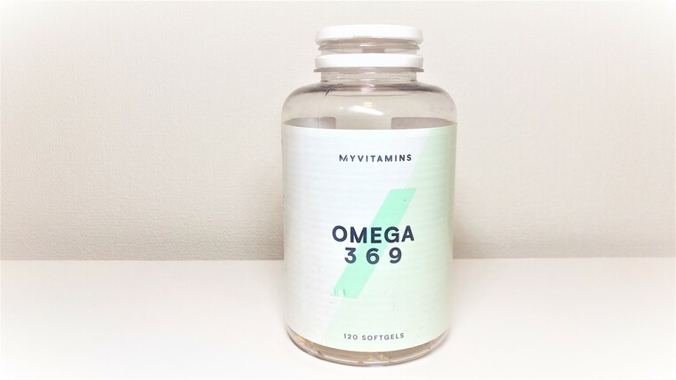 マイプロテイン オメガ3脂肪酸フィッシュオイル120錠